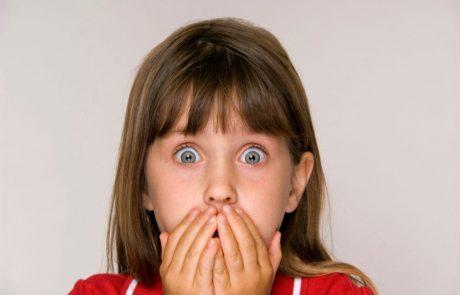 פחדים, חרדה אצל ילדים